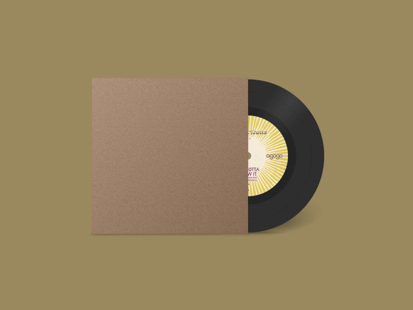 Bandcamp Vinyl 7